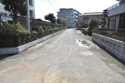 【前面道路含む現地写真】鴻巣市中央 売地(専属)