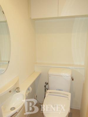 河田町ガーデン クラブフロアのトイレです
