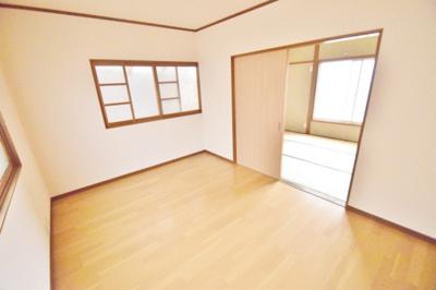 【寝室】藤ヶ丘2丁目テラスハウス