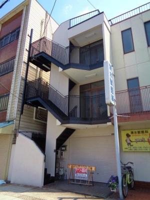 【外観】東田辺3 2階店舗