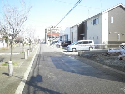 【前面道路含む現地写真】名古屋市西区大野木第2 大野木小学校徒歩2分!