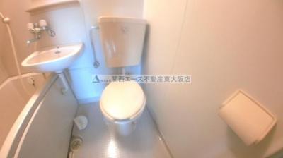 【トイレ】ルミナス東花園