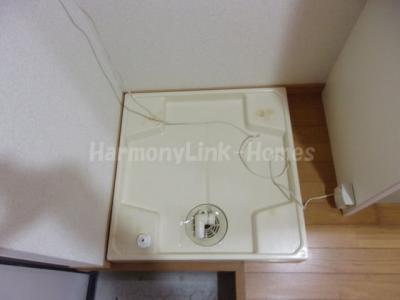ラフォンテーヌの室内洗濯機置き場☆