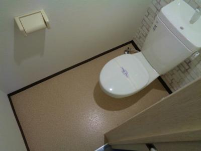 【トイレ】照ヶ丘矢田2丁目テラスハウス