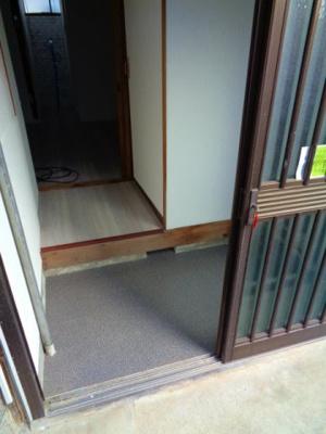 【玄関】照ヶ丘矢田2丁目テラスハウス
