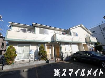 横濱本牧の閑静な住宅街に佇むお洒落なアパートです。