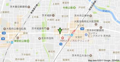 【地図】山崎第4マンション