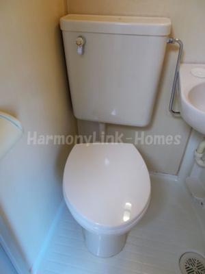 プラスパ志村Ⅱのトイレです