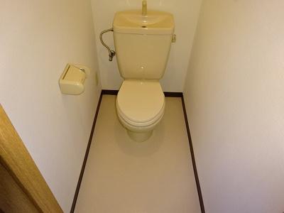 【トイレ】ブルースカイマンションⅢ