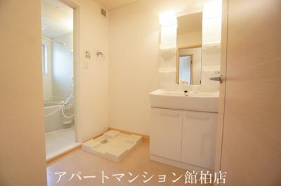 【洗面所】カーサ大井C