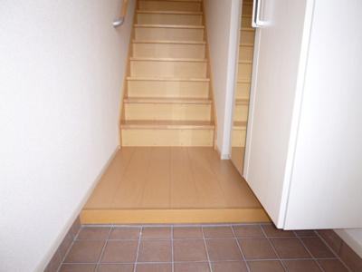 【玄関】エスポワール真壁A
