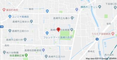 【地図】ハイツデガジェ