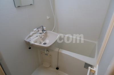 【浴室】レオパレスメルベージュ(34832-101)