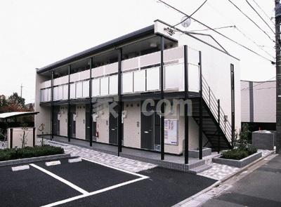 【外観】レオパレスBONHEUR弐番館(36037-101)
