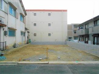 土地面積約35.1坪 建築条件なし、高低差なし、整形地です。