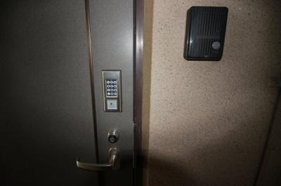 デジタルキーで鍵を無くす必要が有りません!防犯面でも安心ですよ!