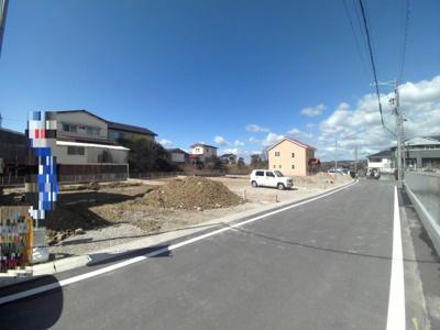 前面道路含む現地写真!