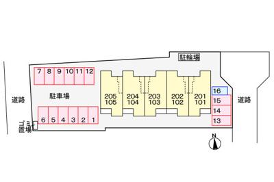 【区画図】ボヌールメゾン篠山