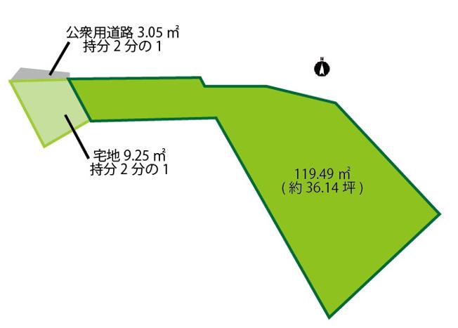 【土地図】北端町