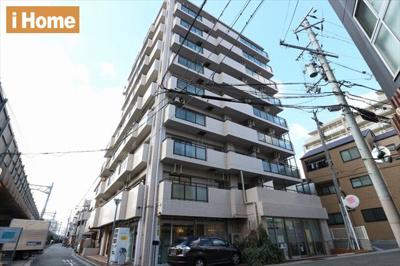 地上9階建てのマンションの2階部分です。