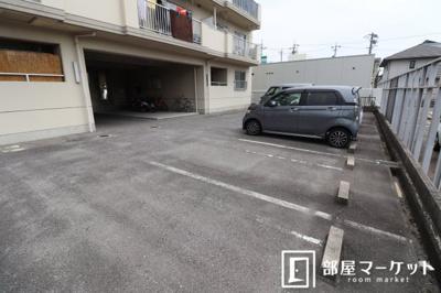 【駐車場】ハイツオリオン