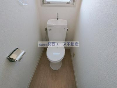 【トイレ】第2喜里川ハイツ