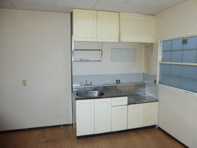 【キッチン】サンシティー北新在家B棟