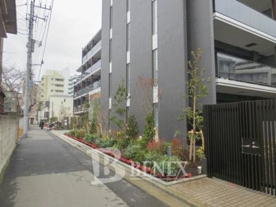 ヒューリックレジデンス新宿戸山の周辺です
