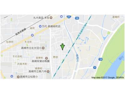 【地図】野田シャトルマンション B棟