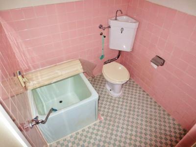 【浴室】モリイアパートメント