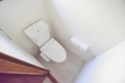 【トイレ】安堂町貸家