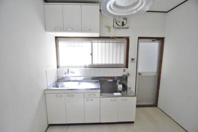 【キッチン】安堂町貸家