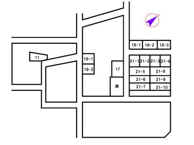 【区画図】加東市天神21-1号地