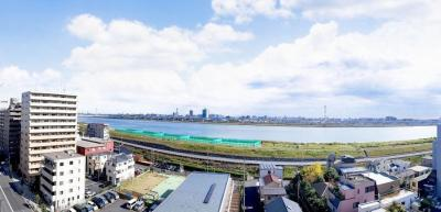 【展望】ルネリバーズタワー東大島 10階部分 角部屋 平成22年築 空室