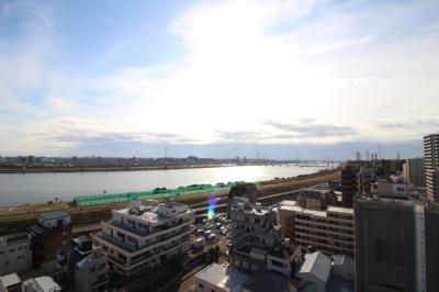 【展望】ライオンズ東大島リバーフィールド 13階 角部屋 空室