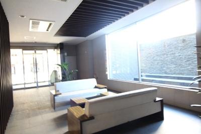 【エントランス】ライオンズ東大島リバーフィールド 13階 角部屋 空室