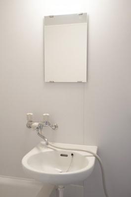 【洗面所】第2蓮池コーポ