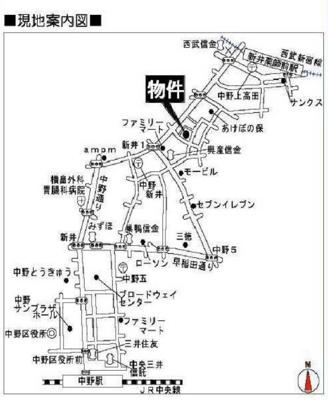 ライフピアジャスミンの地図☆