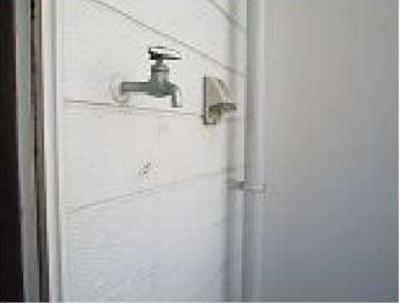 ライフピアジャスミンの水栓(洗濯機置場)☆