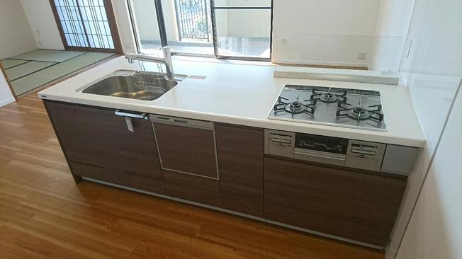 【キッチン】パロス・リバーコート博多壱番館