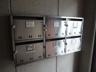 根岸マンション メールボックス