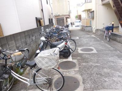 【駐車場】石田ハイツ