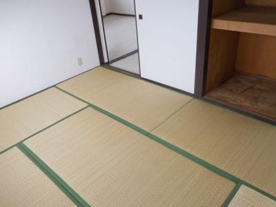 【寝室】石田ハイツ