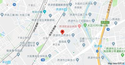 【地図】ルミエール春日Ⅱ