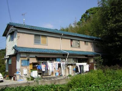 【外観】井貫貸家(3戸1)