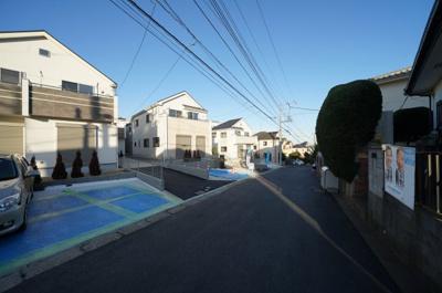 【前面道路含む現地写真】保土ヶ谷区上菅田町全7棟 新築戸建