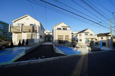 【外観】保土ヶ谷区上菅田町全7棟 新築戸建【成約】