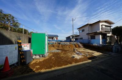 【外観】保土ヶ谷区上菅田町全2棟 新築戸建【成約】