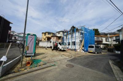 【外観】保土ヶ谷区岩崎町全3棟 新築戸建て【成約】
