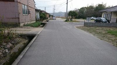 【前面道路含む現地写真】彦名町売地